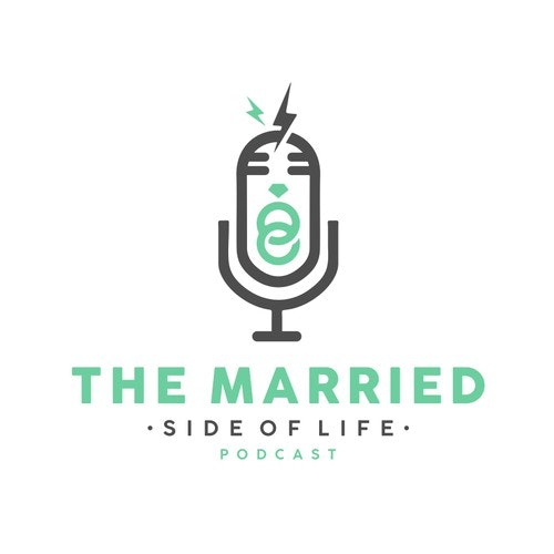 Podcast logo with the title 'Logo Design for The Married - Podcast'