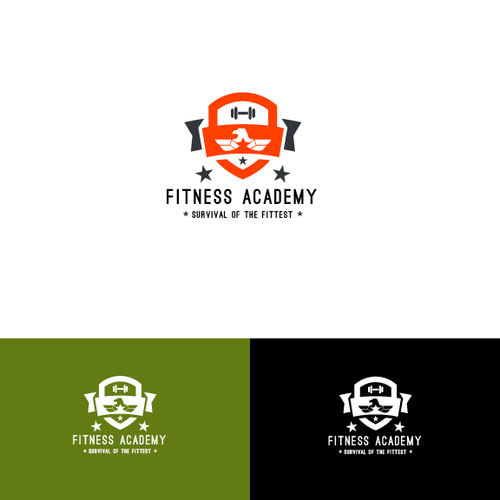 Survival logo with the title 'Fitness Academy'
