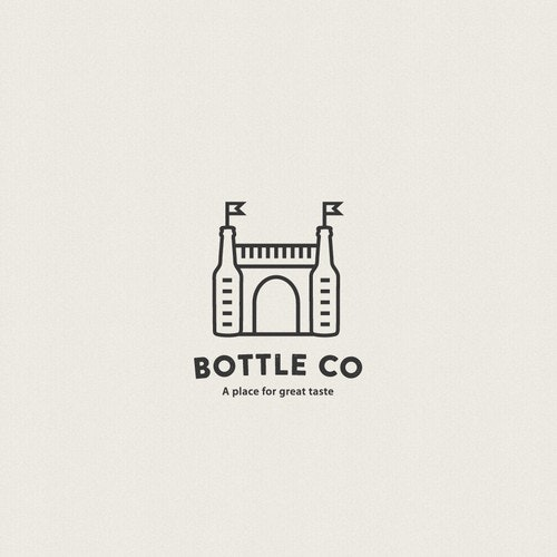 Store logo with the title 'Logo for beer store'