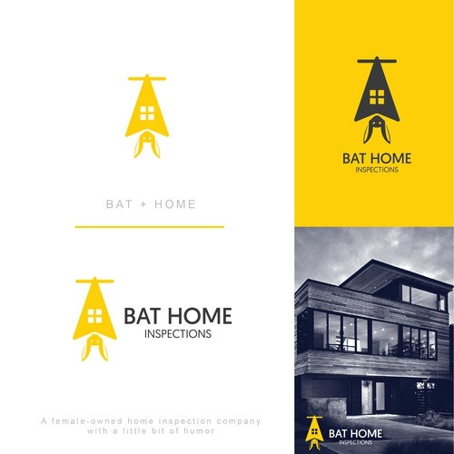 Bat logo with the title 'Bat Home Inspections'
