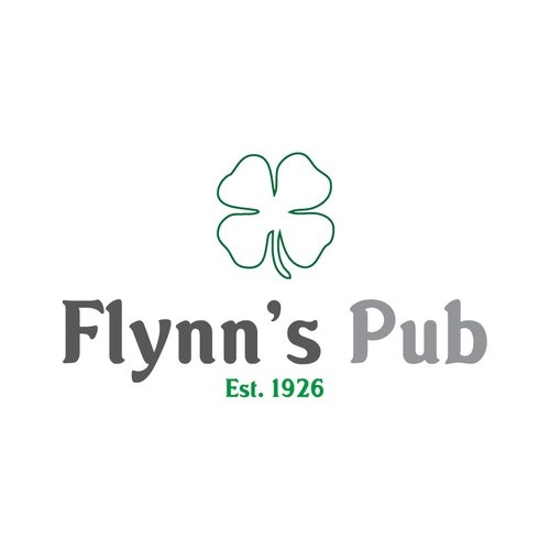 Irish logo with the title 'Irish Pub Logo'