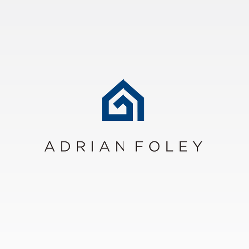 New logo with the title 'Adrian Foley Logo'