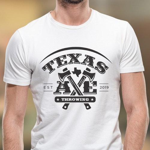 Recreation logo with the title 'Texas Axe Throwing'