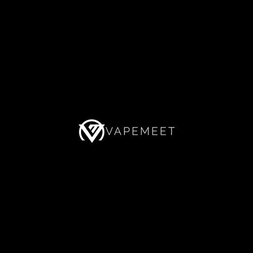 Vape logo with the title 'VAPEMEET'