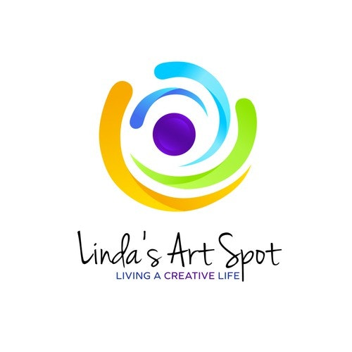 Craft logo with the title 'New fun, colorful creative logo for online art supply store'