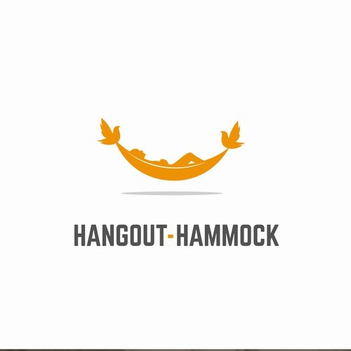 Relaxation logo with the title 'Hangout-Hammock'