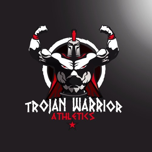 Athletic logo with the title 'logo for Trojan Warrior Atlhetics'
