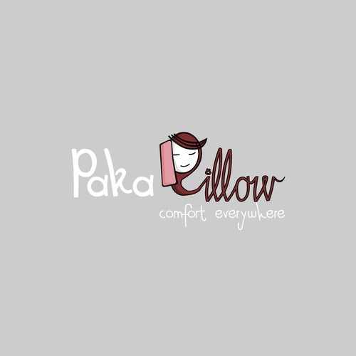 Comfort logo with the title 'Logo concept for pillow company'