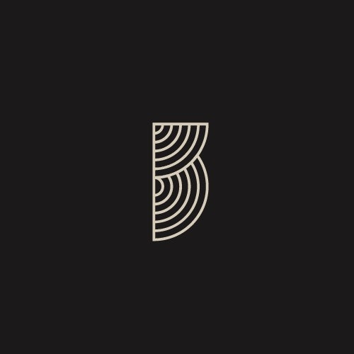 Decorative logo with the title 'Clean logo concept for Men's Jewelry brand'