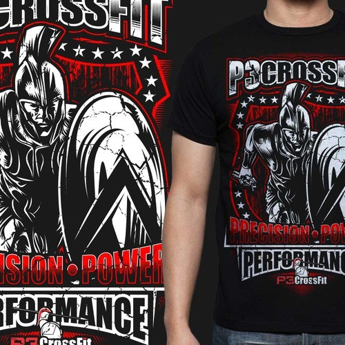 Gym t-shirt with the title 'ROMAN VECTOR'