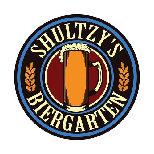 Restaurant logo with the title 'Beer logo For SHULTZY'S'