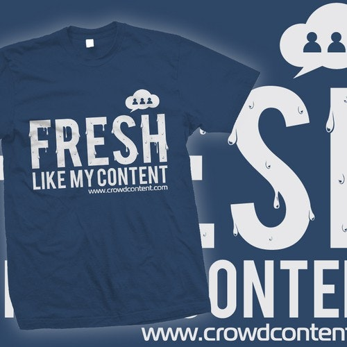 Water t-shirt with the title 'Ballin' T-Shirt for Content Marketers!'