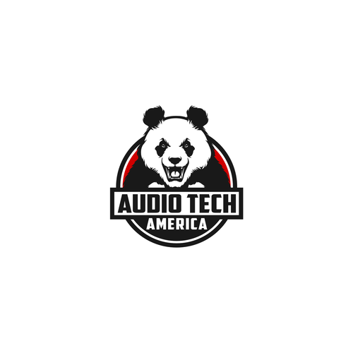 Head logo with the title 'Audio Tech America'