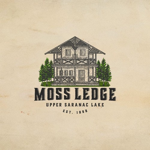 Lodge logo with the title 'Moss Ledge'