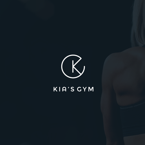 Gym logo with the title 'Kia'sGym '