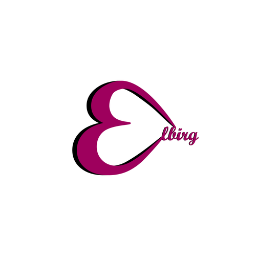 Embroidery logo with the title 'Elegant logo for an embroidery company'