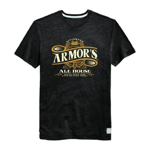 Rustic t-shirt with the title 'Create a Vintage T-Shirt Design for a Rustic Bar / Restaurant'
