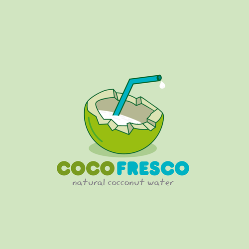 Coconut logo with the title 'Coco Fresco'