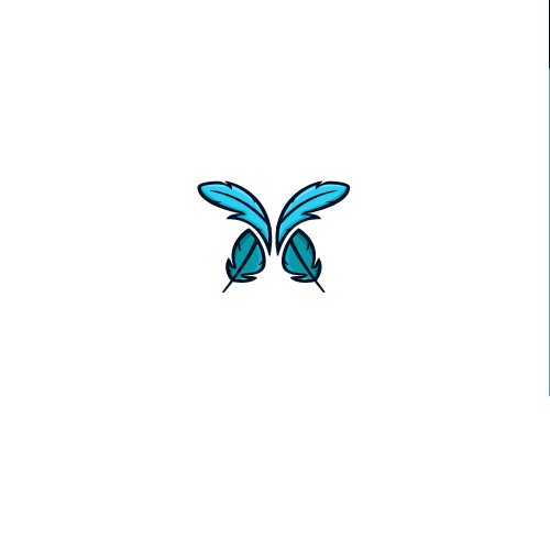 Sleep logo with the title 'Butterfly logo for Pillow Company'