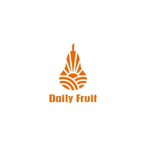 Pear logo with the title 'Daily Fruit'