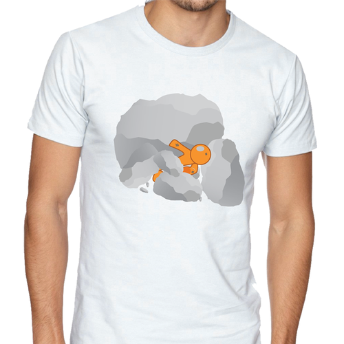 Motivational t-shirt with the title 'Struggle Illustration T-shirt'