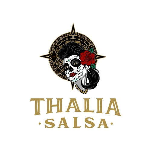 Mexican restaurant logo with the title 'Logo for traditional Mexican salsa'
