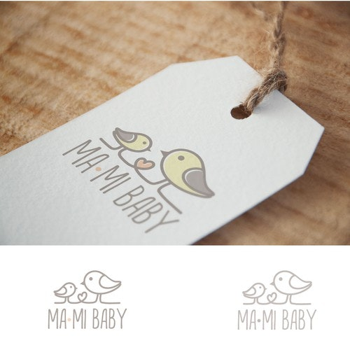 Baby logo with the title 'Ma-Mi Baby'