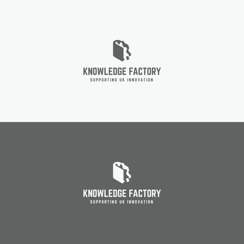 Knowledge logo with the title 'Factory'