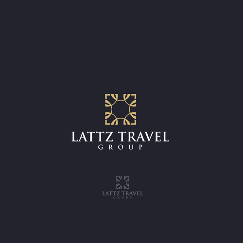 Crest logo with the title 'Lattz Travel Group'