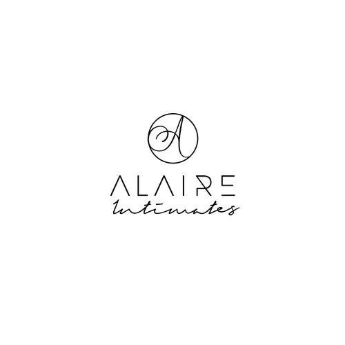 Lingerie logo with the title 'ALAIRE INTIMATES'