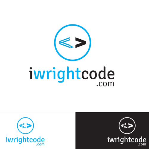 Web development logo with the title 'Logo for independent web designer/software developer'