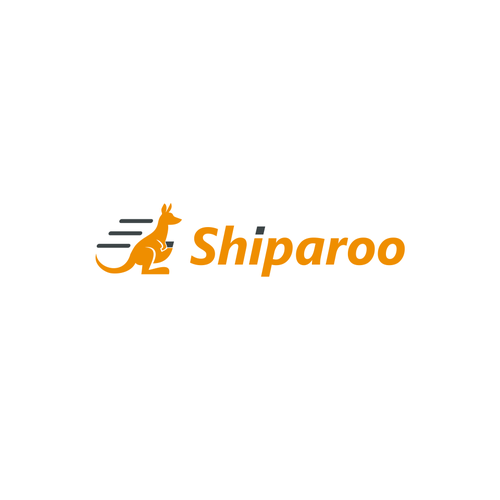Shipping logo with the title 'Shiparoo'
