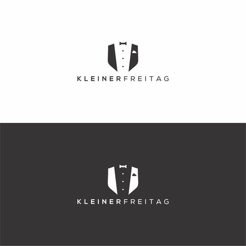 Bespoke logo with the title 'Kleiner Freitag | fancy, modern logo for our new Thursday Party !'