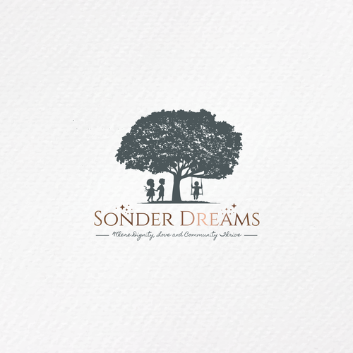 Friendship logo with the title 'Logo | Sonder Dreams'