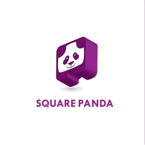Panda logo with the title 'Bold Panda logo '