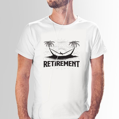 Business t-shirt with the title 'Retirement'