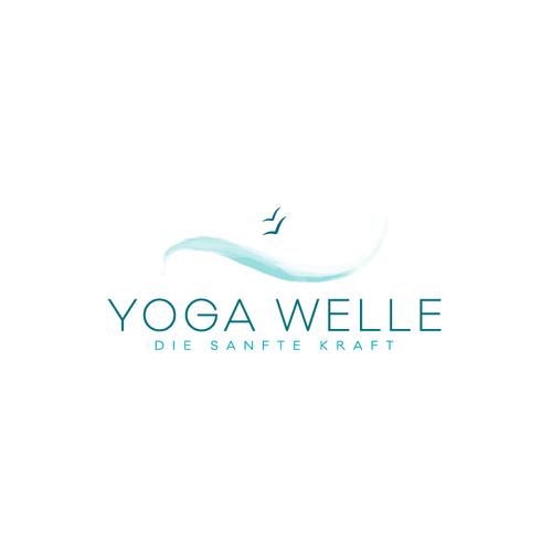 Logo with the title 'Yoga Studio'