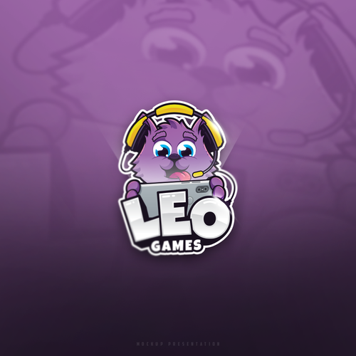 Headphone logo with the title 'Leo Games'