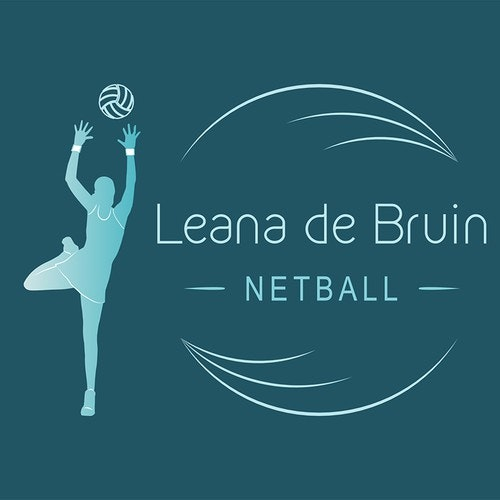 Figure logo with the title 'Netball logo'