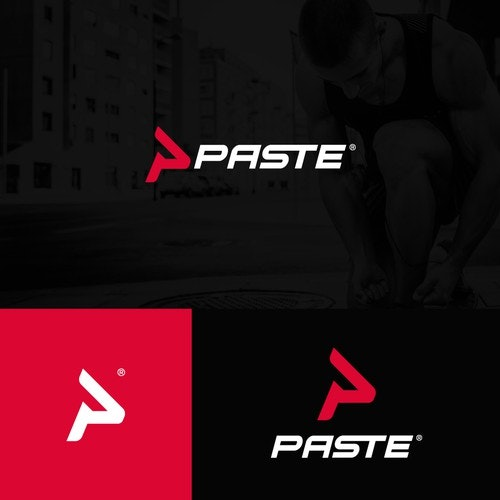 P logo with the title 'Paste Sportwear'