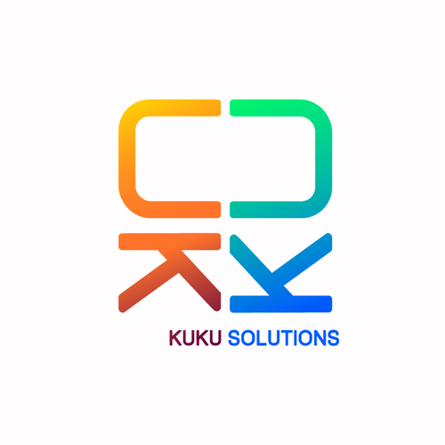 English logo with the title 'Help KuKuSolutions.com with a new logo'