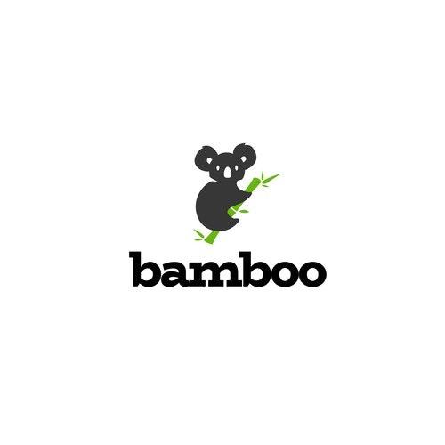 Koala logo with the title 'startup logo'