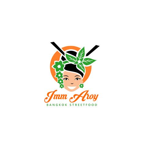 Thai logo with the title 'Thai cuisine'