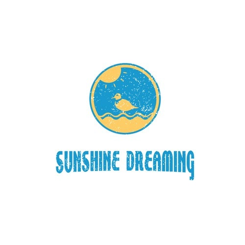 Sunshine logo with the title 'Sunshine Dreaming logo'