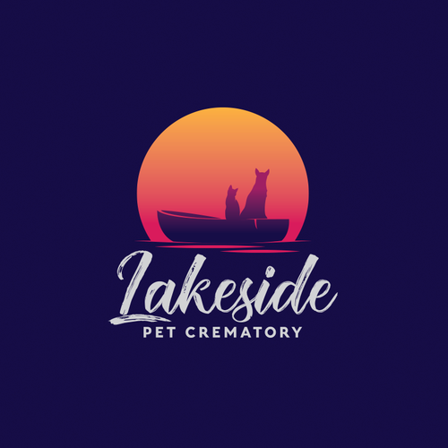 Sunrise logo with the title ' Lakeside Pet Crematory'
