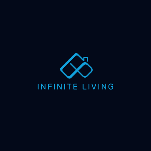 Infinity logo with the title 'Infinite Living'