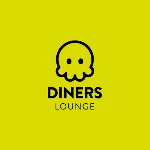 Friendly logo with the title 'Logo design for Diners Lounge'
