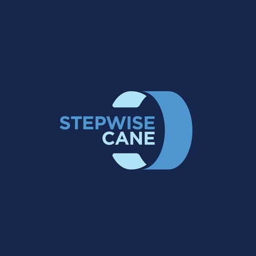 Cool logo with the title 'Stepwise Cane'
