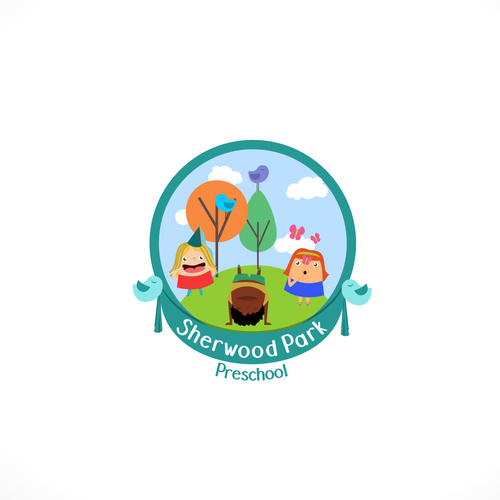 Park logo with the title 'Sherwood Park logo concept'