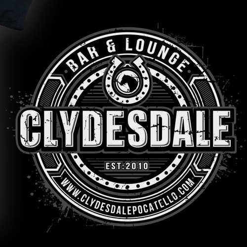 Team t-shirt with the title 'clydesdale design'